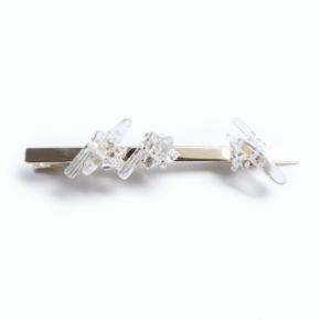 crystal ボリュームロングクリップ(10×0.5cm)