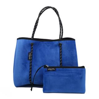 ベルベット ネオプレントートバッグ マグネット(エレクトリックブルー)