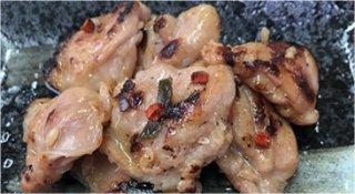 国内鶏はらみの醤油麹漬け