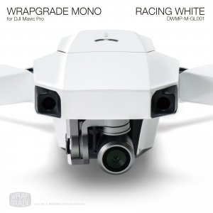 RACING WHITE / レーシングホワイト (グロス・ツヤ) WRAPGRADE MONO for DJI Mavic Pro