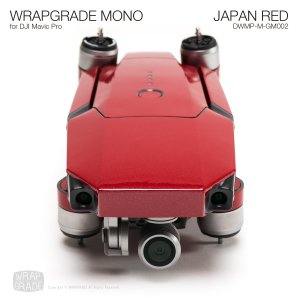 JAPAN RED / ジャパンレッド (グロスメタリック) WRAPGRADE MONO for DJI Mavic Pro