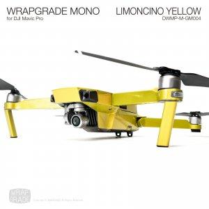 LIMONCINO YELLOW / リモンチーノイエロ (グロスメタリック) WRAPGRADE MONO for DJI Mavic Pro