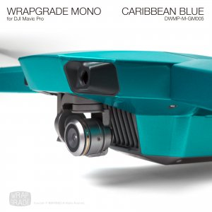 CARIBBEAN BLUE / カリビアンブルー (グロスメタリック) WRAPGRADE MONO for DJI Mavic Pro