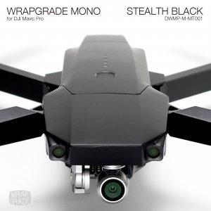 STEALTH BLACK / ステルスブラック (マット・ツヤ消し) WRAPGRADE MONO for DJI Mavic Pro
