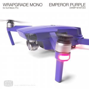 EMPEROR PURPLE / エンペラーパープル (マット・ツヤ消し) WRAPGRADE MONO for DJI Mavic Pro