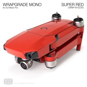 SUPER RED / スーパーレッド (グロス・ツヤ) WRAPGRADE MONO for DJI Mavic Pro