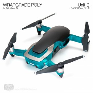 <img class='new_mark_img1' src='https://img.shop-pro.jp/img/new/icons12.gif' style='border:none;display:inline;margin:0px;padding:0px;width:auto;' />WRAPGRADE POLY for DJI Mavic Air スキン シール ユニットB アーム・ボディー 全20色
