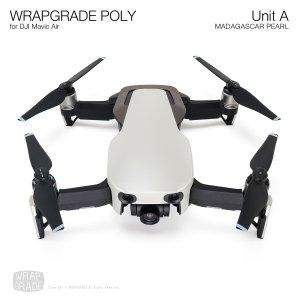 WRAPGRADE POLY for DJI Mavic Air スキン シール ユニットA マダガスカルパール