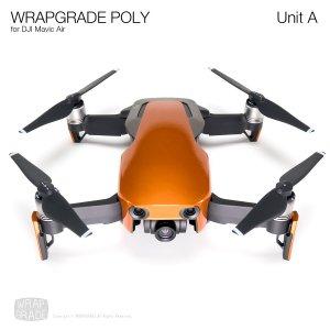 WRAPGRADE POLY for DJI Mavic Air スキン シール ユニットA バタフライコパー