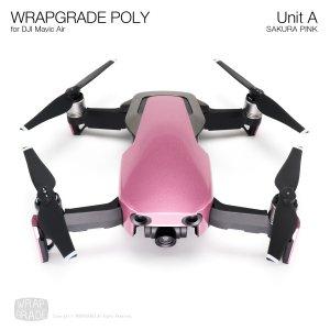 WRAPGRADE POLY for DJI Mavic Air スキン シール ユニットA サクラピンク