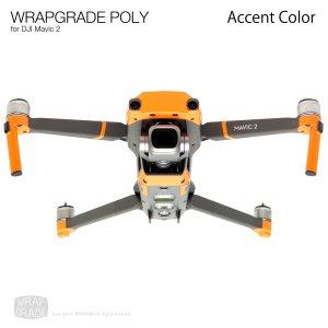 <img class='new_mark_img1' src='https://img.shop-pro.jp/img/new/icons12.gif' style='border:none;display:inline;margin:0px;padding:0px;width:auto;' />WRAPGRADE POLY for DJI Mavic 2 用 アクセントカラー 全19色