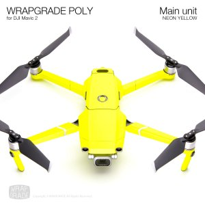 WRAPGRADE POLY for DJI Mavic 2 ネオンイエロー