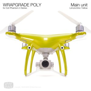 <img class='new_mark_img1' src='https://img.shop-pro.jp/img/new/icons12.gif' style='border:none;display:inline;margin:0px;padding:0px;width:auto;' />WRAPGRADE POLY for DJI Phantom 4シリーズ リモンチーノイエロ