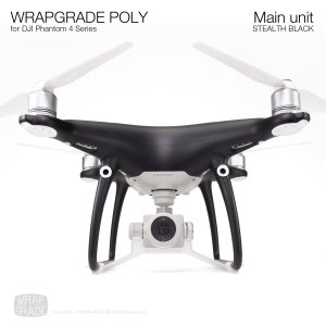 <img class='new_mark_img1' src='https://img.shop-pro.jp/img/new/icons12.gif' style='border:none;display:inline;margin:0px;padding:0px;width:auto;' />WRAPGRADE POLY for DJI Phantom 4シリーズ ステルスブラック