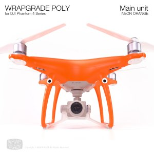 <img class='new_mark_img1' src='https://img.shop-pro.jp/img/new/icons12.gif' style='border:none;display:inline;margin:0px;padding:0px;width:auto;' />WRAPGRADE POLY for DJI Phantom 4シリーズ ネオンオレンジ
