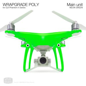 <img class='new_mark_img1' src='https://img.shop-pro.jp/img/new/icons12.gif' style='border:none;display:inline;margin:0px;padding:0px;width:auto;' />WRAPGRADE POLY for DJI Phantom 4シリーズ ネオングリーン