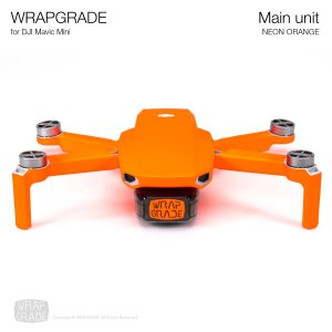 WRAPGRADE for Mavic Mini ネオンオレンジ
