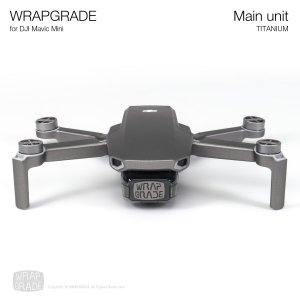 <img class='new_mark_img1' src='https://img.shop-pro.jp/img/new/icons12.gif' style='border:none;display:inline;margin:0px;padding:0px;width:auto;' />WRAPGRADE for Mavic Mini チタニウム