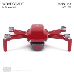 <img class='new_mark_img1' src='https://img.shop-pro.jp/img/new/icons12.gif' style='border:none;display:inline;margin:0px;padding:0px;width:auto;' />WRAPGRADE for Mavic Mini ジャパンレッド