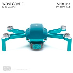 <img class='new_mark_img1' src='https://img.shop-pro.jp/img/new/icons12.gif' style='border:none;display:inline;margin:0px;padding:0px;width:auto;' />WRAPGRADE for Mavic Mini カリビアンブルー