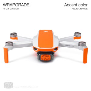 <img class='new_mark_img1' src='https://img.shop-pro.jp/img/new/icons12.gif' style='border:none;display:inline;margin:0px;padding:0px;width:auto;' />WRAPGRADE POLY for Mavic Mini 用 アクセントカラー ネオンオレンジ