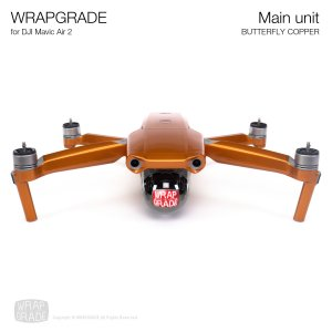<img class='new_mark_img1' src='https://img.shop-pro.jp/img/new/icons12.gif' style='border:none;display:inline;margin:0px;padding:0px;width:auto;' />WRAPGRADE for DJI Mavic Air 2 バタフライコパー