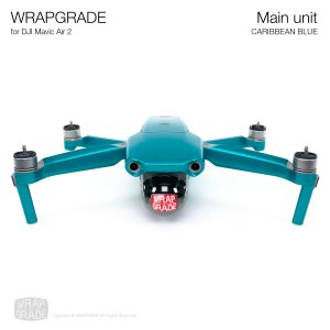<img class='new_mark_img1' src='https://img.shop-pro.jp/img/new/icons12.gif' style='border:none;display:inline;margin:0px;padding:0px;width:auto;' />WRAPGRADE for DJI Mavic Air 2 カリビアンブルー