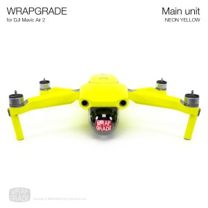 <img class='new_mark_img1' src='https://img.shop-pro.jp/img/new/icons12.gif' style='border:none;display:inline;margin:0px;padding:0px;width:auto;' />WRAPGRADE for DJI Mavic Air 2 ネオンイエロー