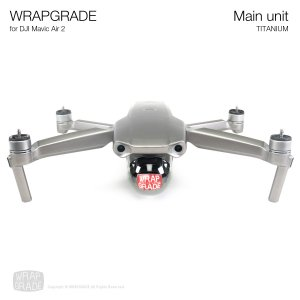 <img class='new_mark_img1' src='https://img.shop-pro.jp/img/new/icons12.gif' style='border:none;display:inline;margin:0px;padding:0px;width:auto;' />WRAPGRADE for DJI Mavic Air 2 チタニウム