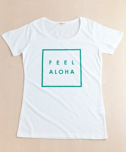【LADIES】FEEL ALOHA Tee