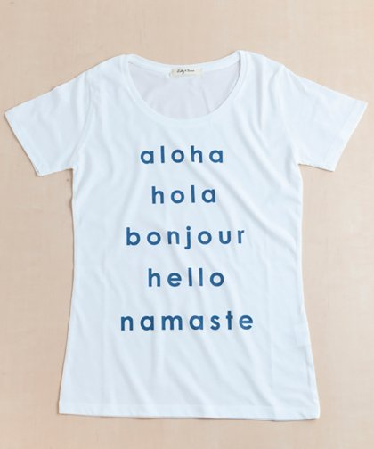 【LADIES】HELLO Tee / HELLO Tシャツ