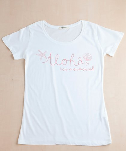 【LADIES】I'M A MERMAID Tee / マーメイド Tシャツ