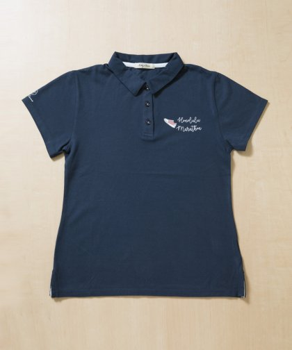 【MENS】【LADIES】JALホノルルマラソンコラボポロシャツ<NOAH Series>