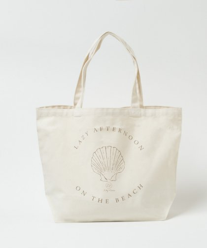 LAZY SHELL Tote / シェル トートバッグ