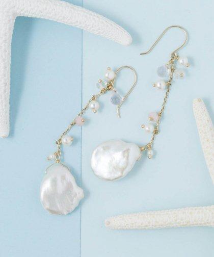 Poppy Pearl Pierced earring / ポピー パール ピアス