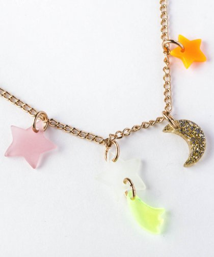 【LADIES】Moon&Star Necklace / Moon&Star ネックレス