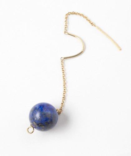 【LADIES】Lan Vo Swing Type Lapis lazuli Pierced Earring / ラピスラズリ ピアス