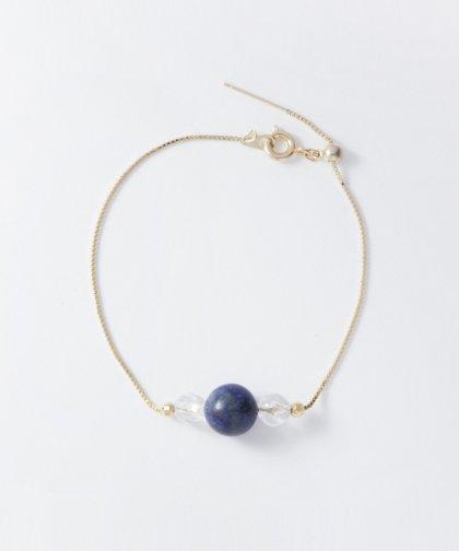 【LADIES】Lan Vo Lapis lazuli×Quartz Bracelet / ラピスラズリ×クォーツ ブレスレット