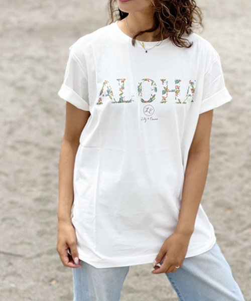 【UNISEX】Authentic ALOHA Tee / ALOHA Tシャツ<NOAH Series>