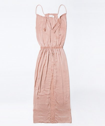 【LADIES】【大政絢着用】TJD Pink Copper Maxi  /  ピンク マキシワンピース