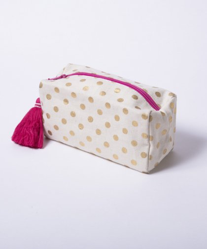 SHIRALEAH Boxy Cosmetic Pouch / ボックス ポーチ