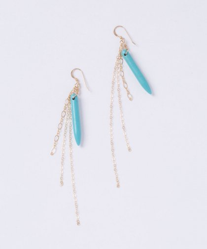 【LADIES】Lino by me Hawaii Taq Stone Pierced Earring