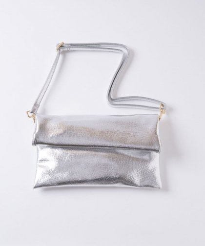 【OUTLET】Silver Shoulder Bag