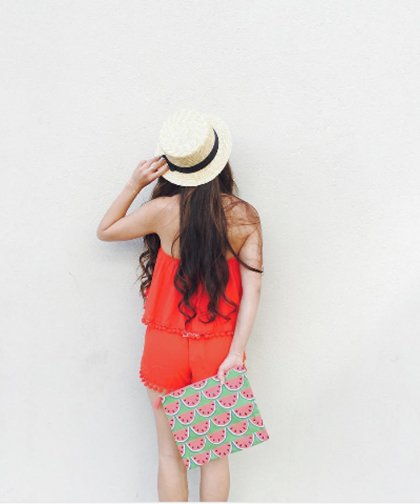 【LADIES】Show Me Your Mumu Red PomPom Bottoms / レッド ショートパンツ