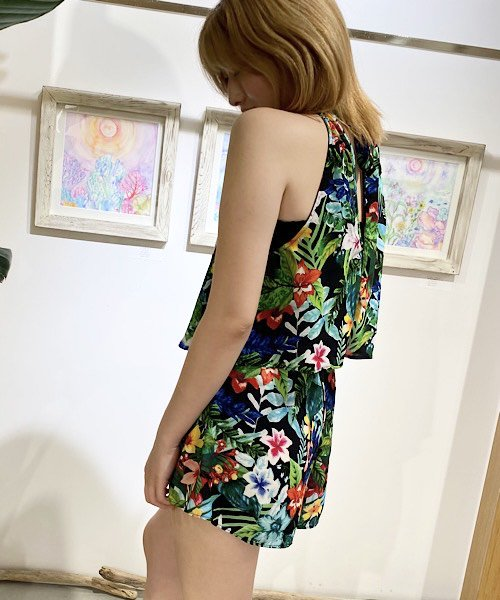 【LADIES】Show Me Your Mumu Tropical Bottoms / トロピカル ショートパンツ