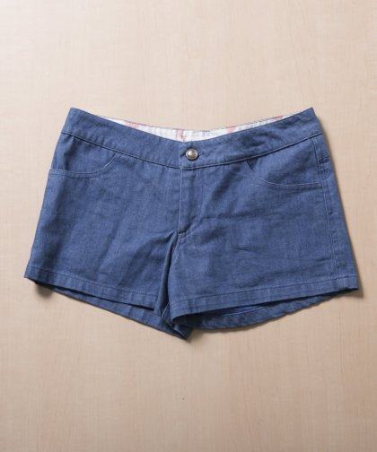 【LADIES】ALLISON IZU Blue Shorts / ブルー ショートパンツ