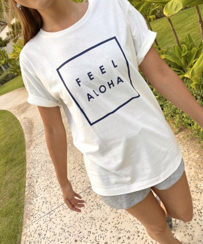 <img class='new_mark_img1' src='//img.shop-pro.jp/img/new/icons14.gif' style='border:none;display:inline;margin:0px;padding:0px;width:auto;' />【UNISEX】FEEL ALOHA Tシャツ<NOAH Series>