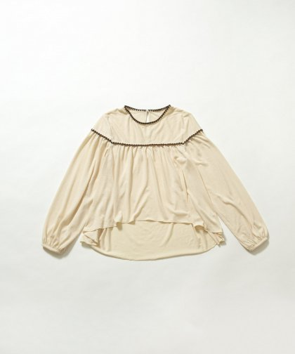【SALE】【LADIES】ハマグリ刺繍プルオーバー