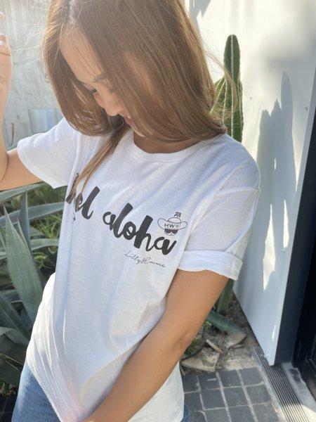 【UNISEX】「ハワイに恋して」コラボFEEL ALOHA Tシャツ2019Ver.