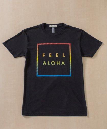 【UNISEX】FEEL ALOHA ユニコーンレインボーTシャツ